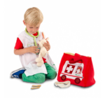 A kis doktor rendelője - textil