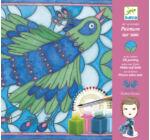 Selyemfestő készlet - Páva - Peacock