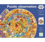 Történelem + kisfüzet - 350 db-os megfigyelő puzzle