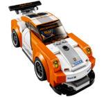 LEGO SPEED CHAMPIONS: Porsche 911 célvonal 75912