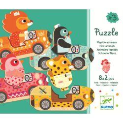 Állatos szín és formafelismerő puzzle