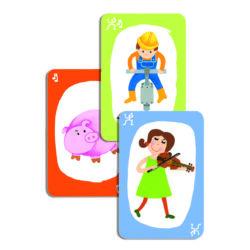 Mutogatós és hangutánzós kártyajáték