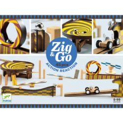 Építőjáték - Sokasodó - 45 db - Zig & Go
