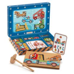 Kalapálós játék - Autós