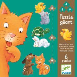 Misty és barátai - puzzle kicsiknek