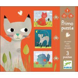 Macskák - puzzle