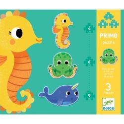 Primo puzzle - A tengerben, 4, 6, 9 db-os
