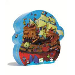 Barbarossa hajója  - 54 db-os formadobozos puzzle