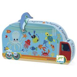 Mini puzzle - Mozgó akvárium