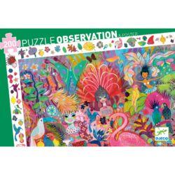 Megfigyeltető puzzle - Riói karnevál
