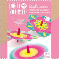 Csináld magad! - Színkeverő pörgettyű virágokkal