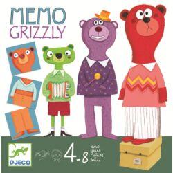 Grizzly-szín és formafelismerő játék