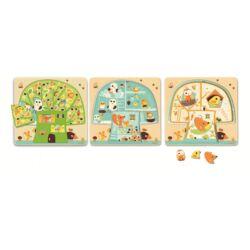 Háromrétegű puzzle _ Faházikó - Tree house