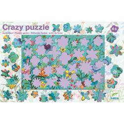 Virágok a kertben kirakó - Crazy puzzle