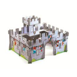 Djeco Lovagvár kartonból 3D