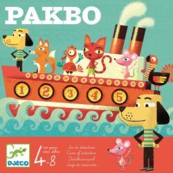 Pakbo- Memóriát fejlesztő társasjáték
