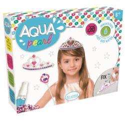 Aqua Pearl gyöngyépítő készlet - korona