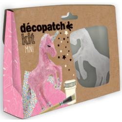 Mini Décopatch készlet - Egyszarvú