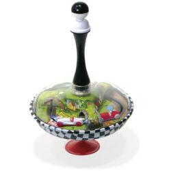 Búgócsiga-autóverseny