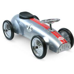 Ezüst fém autó