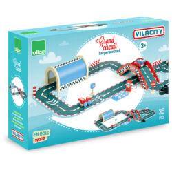 Vilacity 35 db-os nagy versenypálya fából - Vilac