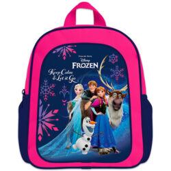 Disney hercegnők: Jégvarázs ovis hátizsák – lila-rózsaszín