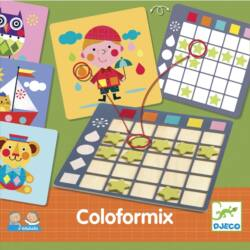 Fejlesztő játék - Eduludo Coloformix