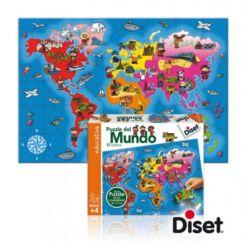 Világ puzzle_37 darabos