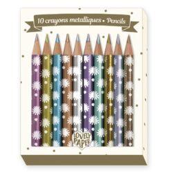 metáll színű ceruza készlet