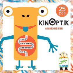 Optikai puzzle - Kinoptik Animonster - 26 db-os