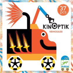 Optikai puzzle - Kinoptik Véhicles - 38 db-os