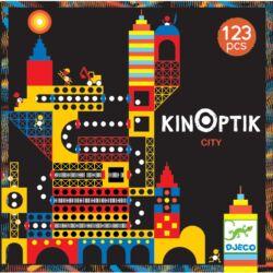 Optikai puzzle - Város, 123 db-os - Kinoptik Ville