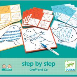 Rajzolás lépésről lépésre - Vonalvezetés - Step By Step Graff' and Co