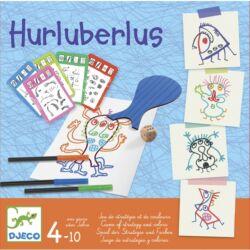 Hurluberlus, Djeco kreatív társasjáték ,4-10 év