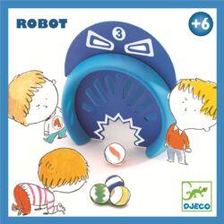 Robot - ügyességi, gurítós játék