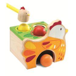 Kalapálós játék - Készségfejlesztő játék kicsiknek