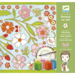 Selyemfestő készlet - Pillangók - Butterflies