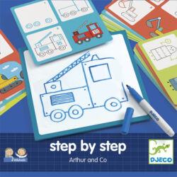 Lépésről lépésre _ rajzoljunk fiús képeket