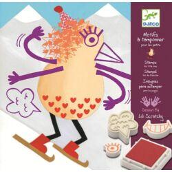 Krumplifejek - Nyomdakészlet kicsiknek kimosható tintával!!!