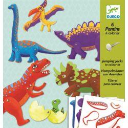Mozgatható dinók - Kreatív készlet