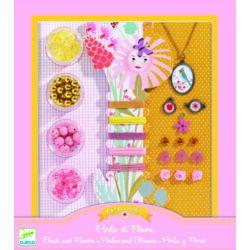 Gyöngyök és virágok _ ékszerkészítő készlet
