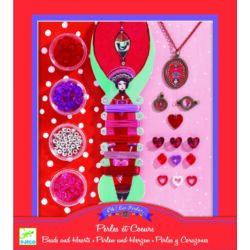 Gyöngyök és szívek - Ékszerkészítő készlet