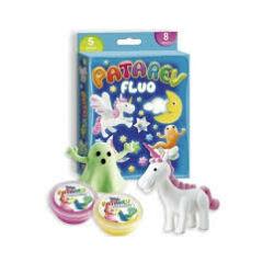 Gyurmakészlet, fluoreszkáló 5 szín