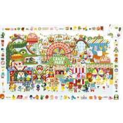 Böngészős puzzle - Crazy Park _35 db-os
