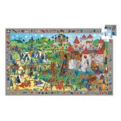 Lovagok_Felfedező puzzle 54 db-os