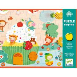 Meglepetés puzzle - Hab a tortán