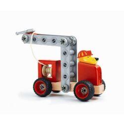Összeszerelhető tűzoltóautó
