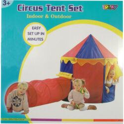 Cirkusz sátor alagúttal