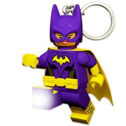 LEGO BATMAN MOVIE: Batgirl világító kulcstartó