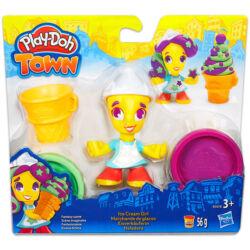 Play-Doh Town fagyis kislány